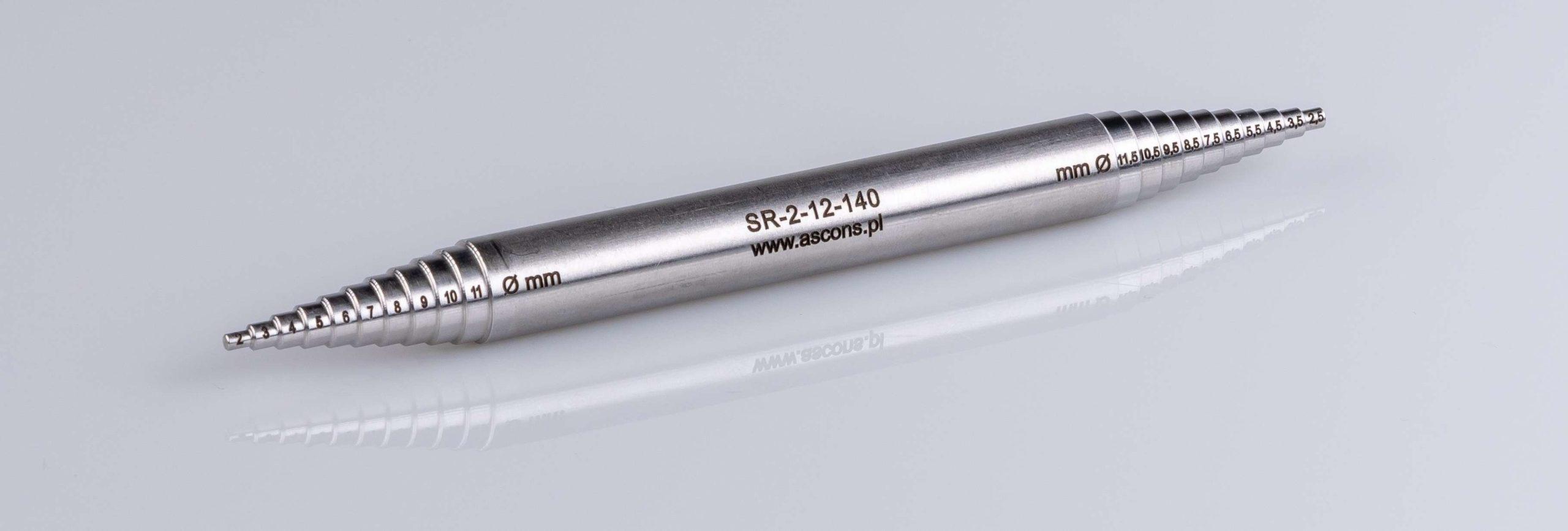 Sprawdzian do dysz i tulei (SR-2-12-140)